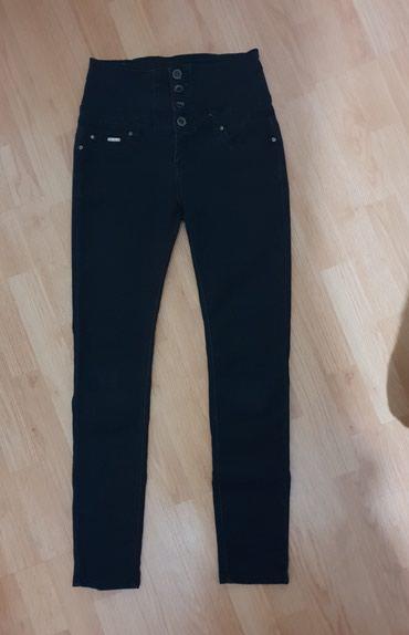 Crne uske i duboke pantalone br: 38 - Loznica