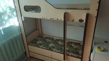 Продаю двуяростную кровать . Покупали 1,5 года назад . В хорошем состо в Бишкек