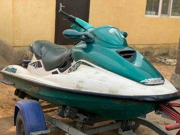 Водный транспорт - Кыргызстан: Продаю водный скутер сиаду 2тактный на ходу цена 110000 писать ватсап