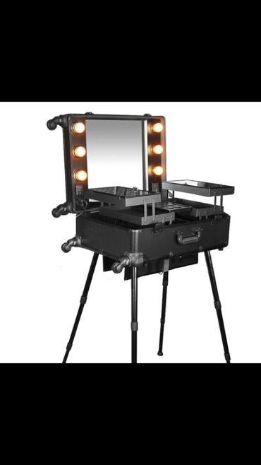 Мобильная студия визажиста или БьютиБар с подсветкой - полностью