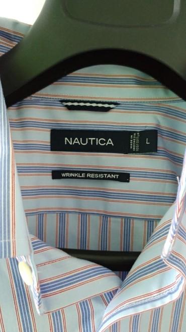 Muška odeća | Bor: Nautica muska kosulja L velicine, nova je nenosena, nepotrebna