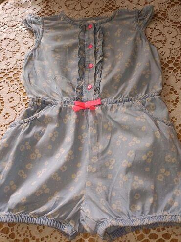 Dečija odeća i obuća - Sid: Presladak svetlo plavi kombinezon za devojčice kao nov, veličina
