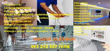 Zlatibor - Srbija: Usluge Zlatibor!  POZOVITE I NE MISLITE!  HAUSMAJSTOR - krečenje, mol