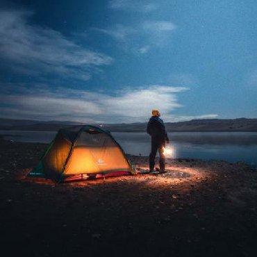 Camp Çadırı Satışı (Yeni ). 2-3 nəfərlik. Materialı Yağış keçirmir. D
