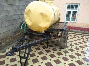 Алюминиевая бочка для воды на колесах в хорошем состояний в Кара-Суу