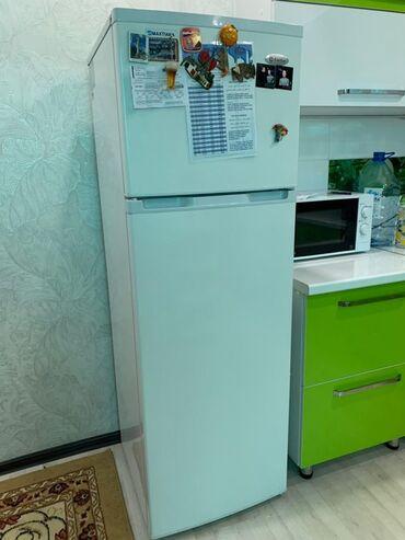 Техника для кухни - Кыргызстан: | Б/у Двухкамерный | Белый холодильник Beko