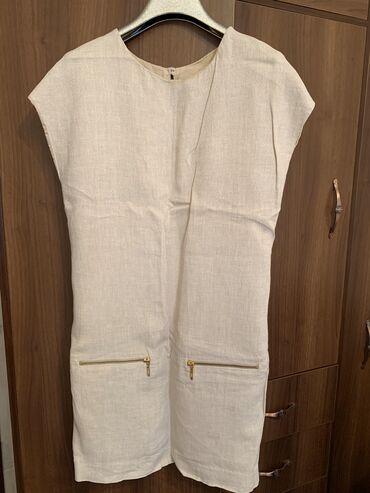 Платье лен размер 42