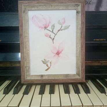 """Картина """"Магнолия""""Картина подарок для души!Самый креативный и"""