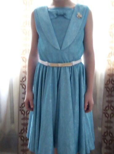 Продаётся красивое нарядное платье на 10-11 лет. в Лебединовка