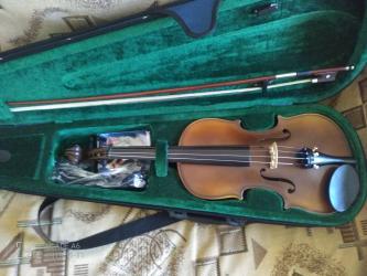 Musiqi alətləri - Qusar: Скрипка в отличном состоянии почти новый
