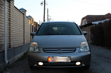 Продаю Хонда-стрим, 2001 года выпуска, объем двигателя  1700 (куб. ) в Бишкек