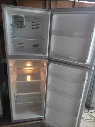 Б/у Двухкамерный   Серый холодильник