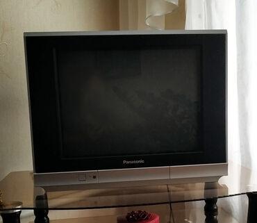 ТВ и видео - Беловодское: Телевизор Panasonic 52 см с приставкой в отличном состоянии в