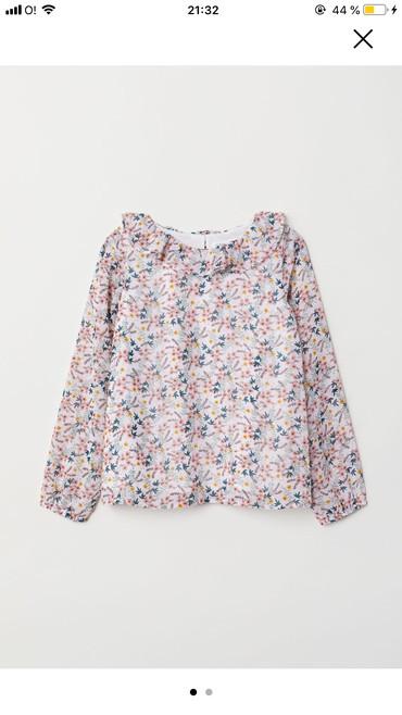 Новая блузка HM 3-4 года. Очень нежная и красивая