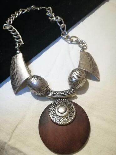 Retro bohemian ogrlica. Extra