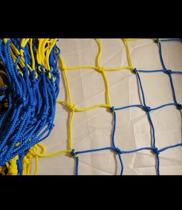 Спорт и отдых - Бишкек: Сетки для футбольного поля.  Заградительные сетки.  Звонить на номер