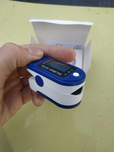 Пульсометр поштучно и оптом измеряет пульс и колличество кислорода в