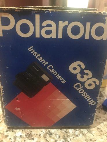 Polaroid 636,teptezedir,Avrropadan almishdim,originaldir,lenti yoxdu - Bakı