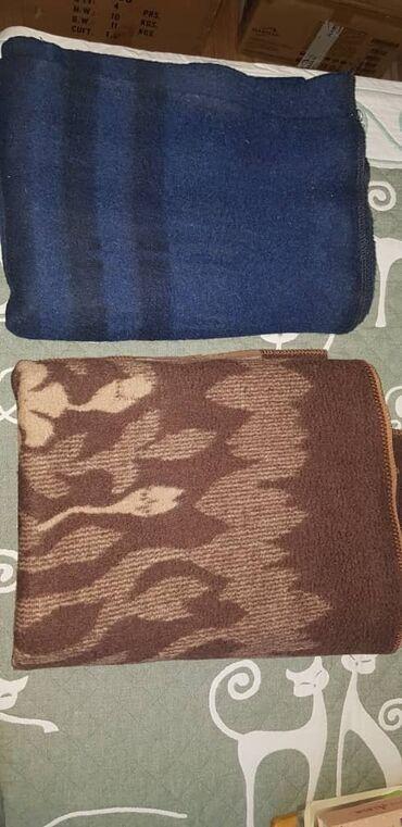 Продаются 2 шерстяных одеяла (верблюжие) Адрес: 11 микрорайон, дом 19