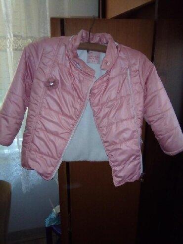 Dečije jakne i kaputi | Kovacica: Divna zimska jaknica za devojčicenežno Roza boja. Preslatka. Bez