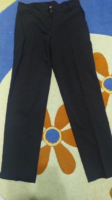 шелковые рубашки женские купить в Кыргызстан: Женские брюки, классические, размер 46-48, новые, цвет коричневый