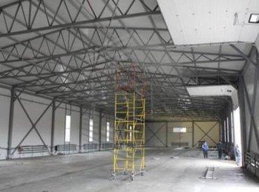 услуги профессиональных сварщиков в Кыргызстан: Ангары, склады, автомойки и С.Т.О.Строительная фирма Февраль