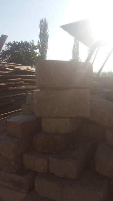 Ремонт и строительство - Кара-Балта: Кирпич таблетка печкага Карабалта Тельман