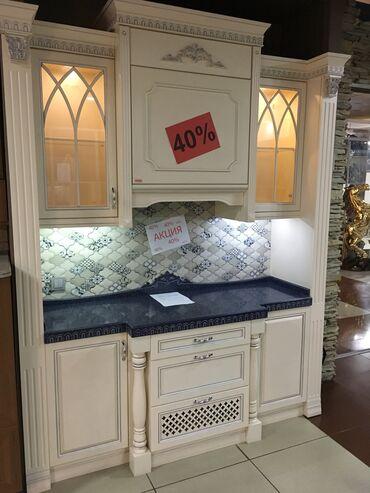мдф лист цена бишкек в Кыргызстан: Продаю кухню 2м. Материал мдф крашенный. Столешница камень . Краска ит