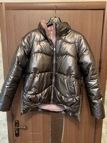 Продаю курткуцвет асфальт, размер L подойдет и на Мпочти новая