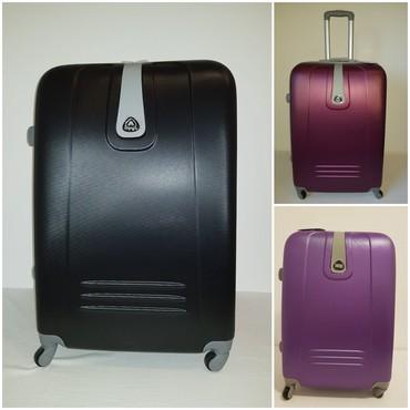 Koferi od ABS plastike, laki, izdrzljivi i prakticni.  - Belgrade