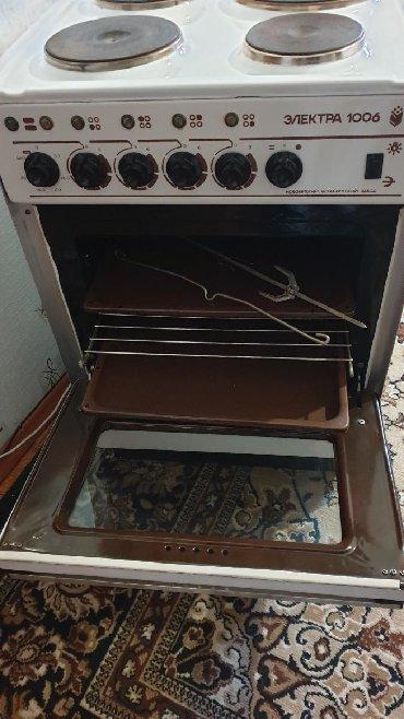 Техника для кухни в Кыргызстан: Продаю плиту Электра 1006 полностью в рабочем состоянии и в отличном