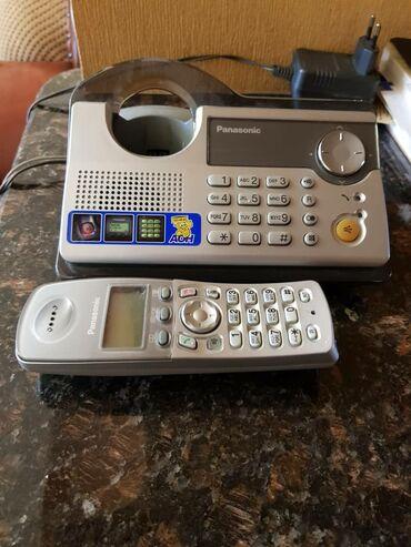 Беспроводной телефон Панасоник в идеальном рабочем состоянии