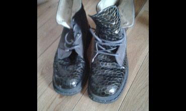 Zenske duboke cipele - malo nosene - broj 35 - Belgrade