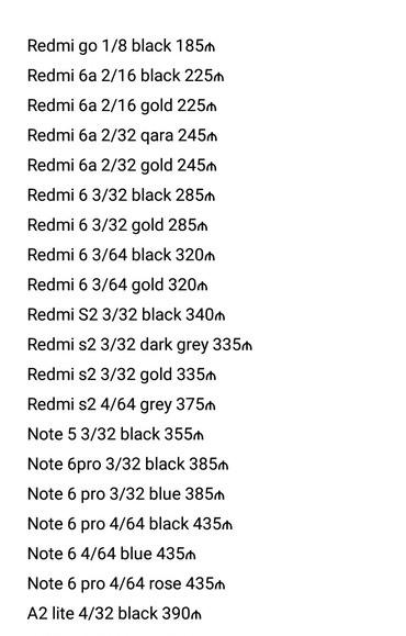 Bakı şəhərində Xiaomi modelləri!