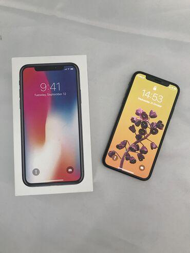 iphone qablari - Azərbaycan: İşlənmiş iPhone X 64 GB Qara
