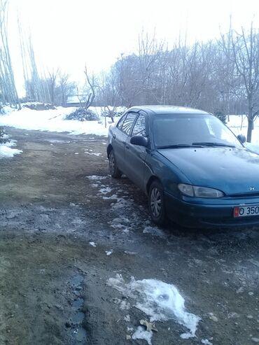 Hyundai Accent 1.3 л. 1995 | 255555555 км
