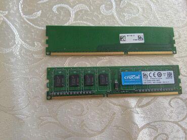 Электроника в Нахичевань: Stolüstü komputer üçun ram.DDR3 1600 Mhz Hər biri 4 gigabytedir