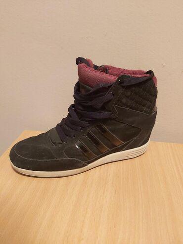 Adidas-orion-patike - Srbija: Adidas original patike sa skrivenom petom nosene par puta kao nove
