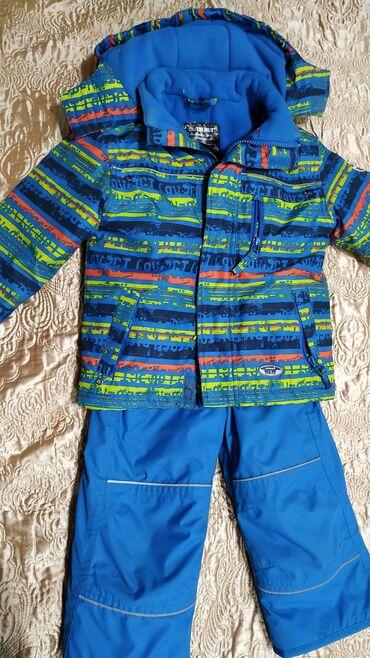 купальники для мальчиков в Кыргызстан: Зимний костюм для мальчика производство Германия. Рост 98. Капюшон