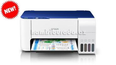 Printer Epson L3115Brend:EpsonÇox funksiyalı rəngli printerÇap,skan və