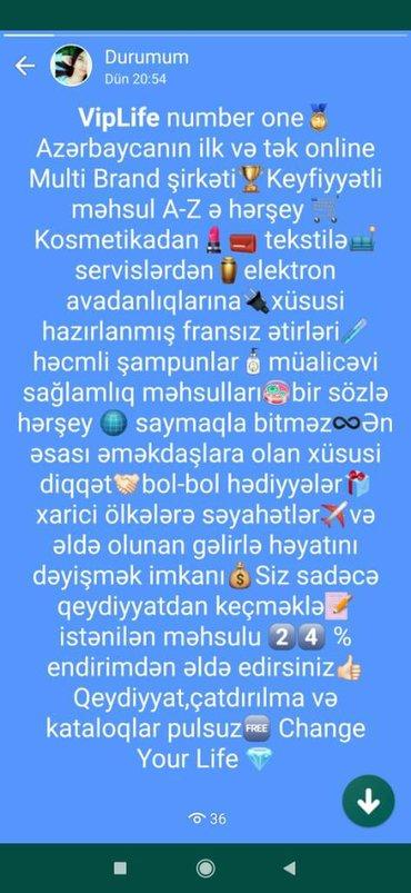 İş axtarıram (rezümelər) Tovuzda: Şəbəkə marketinqi məsləhətçisi