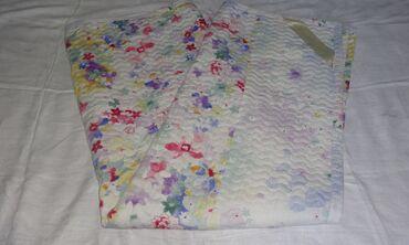 Одеяло 2сп. хлопок б/у 180*220 см. Плотный стеганый хлопок