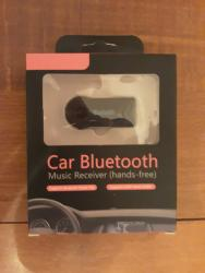 Qara rengli Car Bluetooth в Bakı