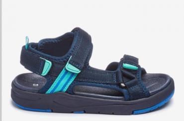 Next Chunky Trekker сандали, новые, цвет синий, размер: 29