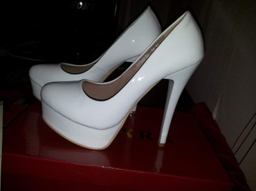 Белые туфли размер35 в Лебединовка