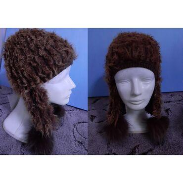 шапки и варежки в Кыргызстан: Распродажа!!!!!Продаю зимние шапки из натурального меха лиса и