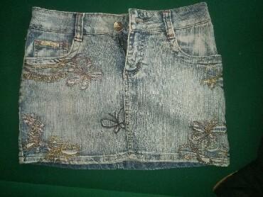 Suknjica-jeans - Srbija: Suknjica