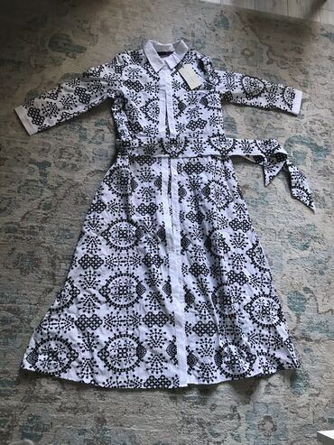 платье миди в Кыргызстан: Платье Свободного кроя Zara S