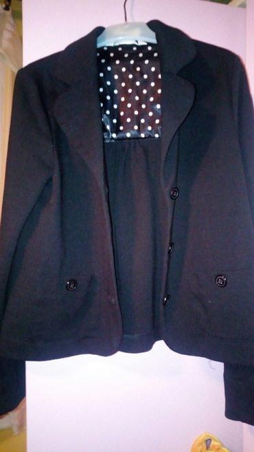 Dečije jakne i kaputi | Sabac: Hm sako za devojcice 10-11 god vel, 146u crnoj boji divno stoji