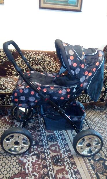 Детский мир - Каракол: Продаю детскую коляску зима- лето в отличном состоянии